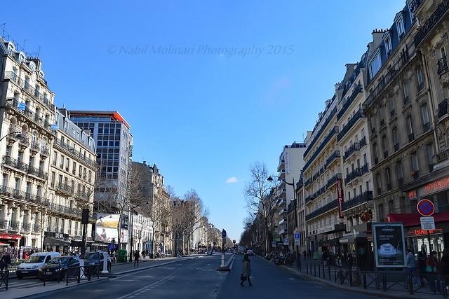 Cityscape : Boulevard du Montparnasse