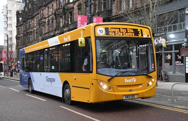 First Glasgow Alexander Dennis Enviro 300 67821