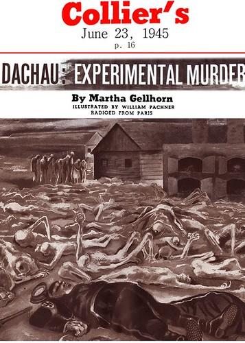 Martha Gellhorn reportage Dachau