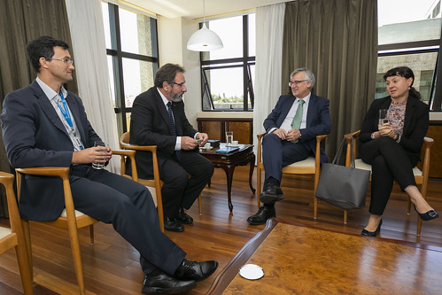 Visita da Embaixador da União Europeia