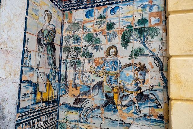 Palais des marquis de Fronteira Lisbonne