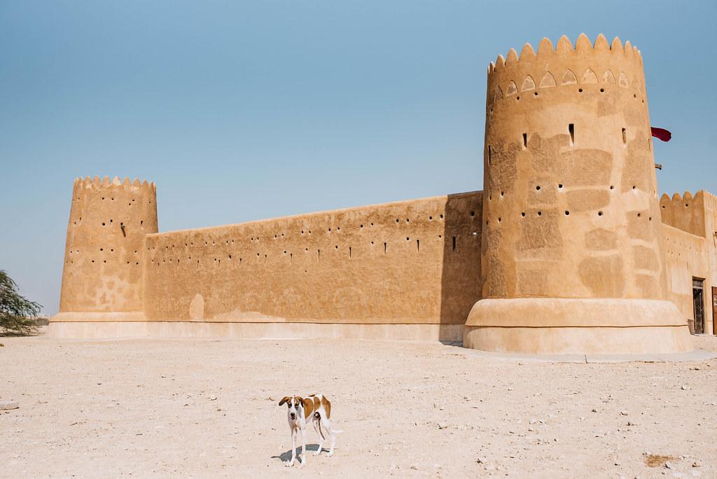 al zubarah north of qatar