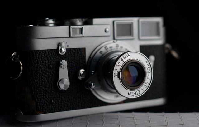 Camera Erotica#FED#MIR M Mount folding fast 50