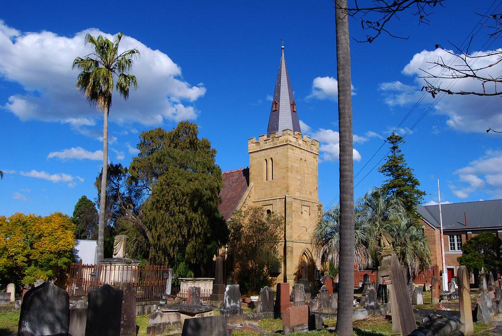 St Thomas Anglican Church, Enfield, Sydney, NSW.