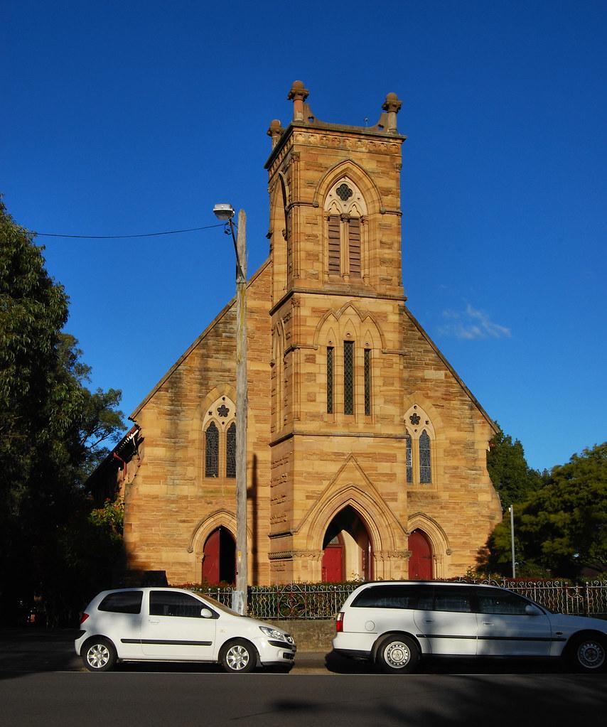 St Davids Uniting Church, Haberfield, Sydney, NSW.