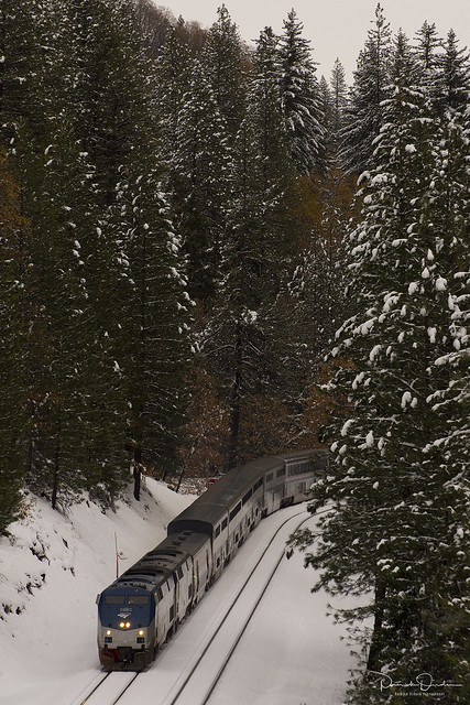 Winter Wonderland on Amtrak