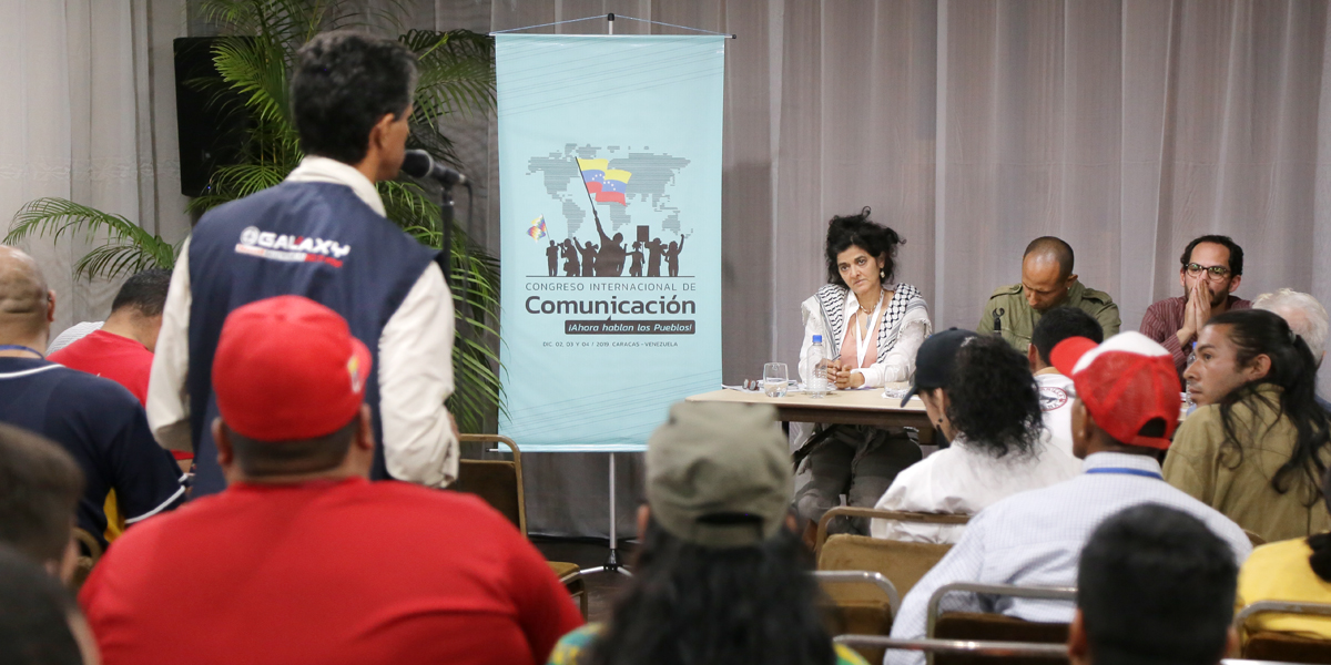 Mesas de trabajo del Congreso Internacional de Comunicación contrarrestan cerco mediático en torno a Venezuela