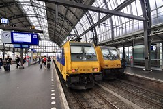 Amsterdam 2019 ? NS E186032 and E186010 at Central Station