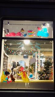 Christmas Window at the Portobello Bookshop 02