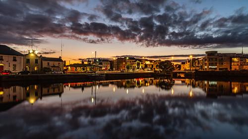 nikon d750 irland ireland galway sunrise sunset