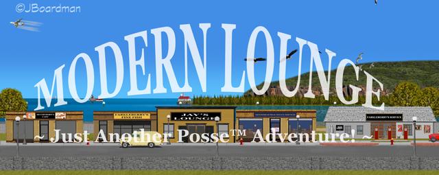 Modern Lounge Banner