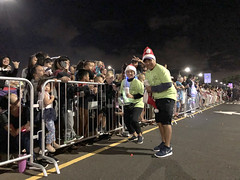 Hawaiian Electric at the West Oahu Electric Light Parade — Nov. 30, 2019: Volunteers waved and interacted with spectators.