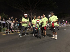 Hawaiian Electric at the West Oahu Electric Light Parade — Nov. 30, 2019: Just one of the families who enjoyed walking in the parade!
