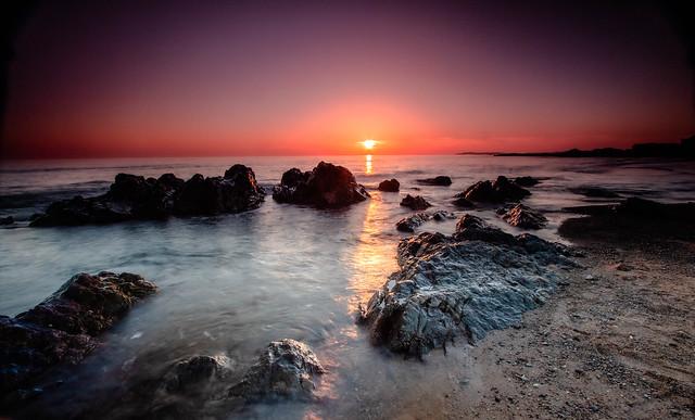 Tyn Tywyn Sunset, Ynys Mon,