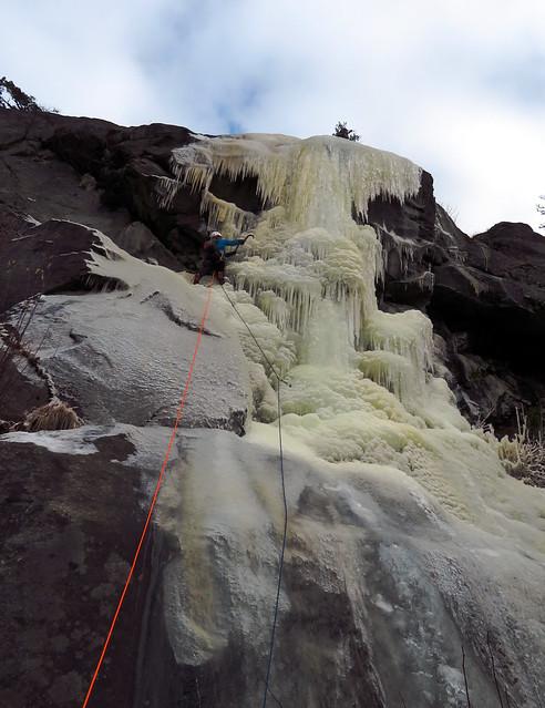 Unclimbed Ice