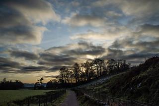 Kilmartin - Winter Sunset