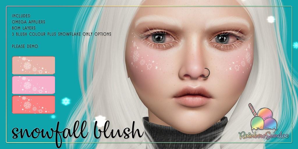 *Rainbow Sundae* Snowfall Blush @ The Liaison Collaborative