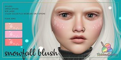 *Rainbow Sundae* Snowfall Blush @ The Liaison Collaborative