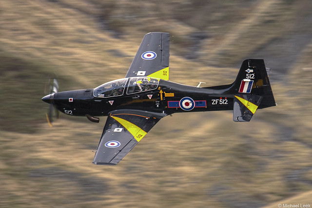 RAF Short Tucano T1A, ZF512/512; 72 Squadron, RAF Linton-on-Ouse, Yorkshire, England