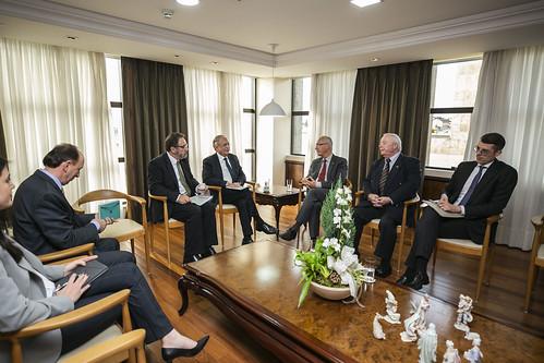 Visita do Embaixador da Alemanha