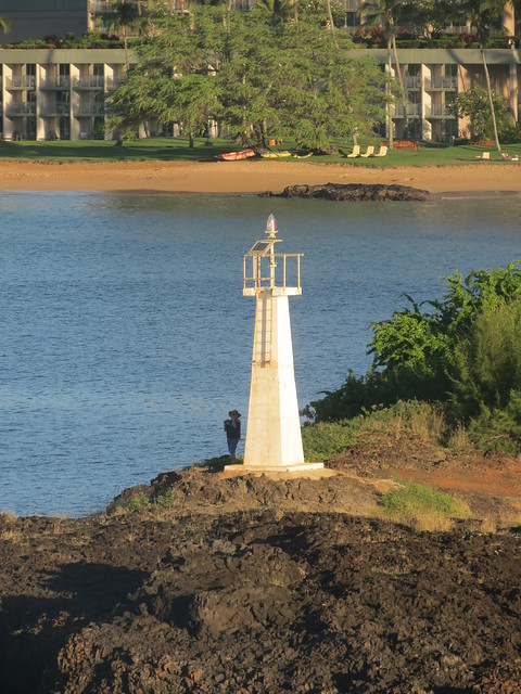 Kuki'i Point Lighthouse, Nawiliwili Harbor, Kauai, Hawaii