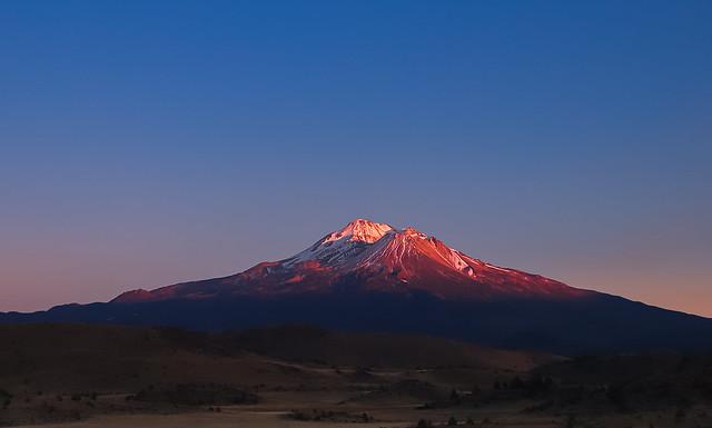 Mt Shasta , N  California