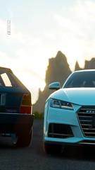 Lancia Delta Integrale Evo & Audi TTS