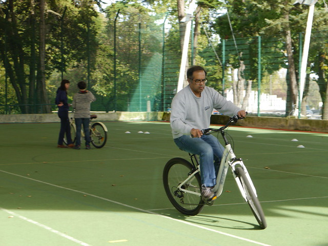 Aulas na Escola de Bicicleta da Cenas a Pedal