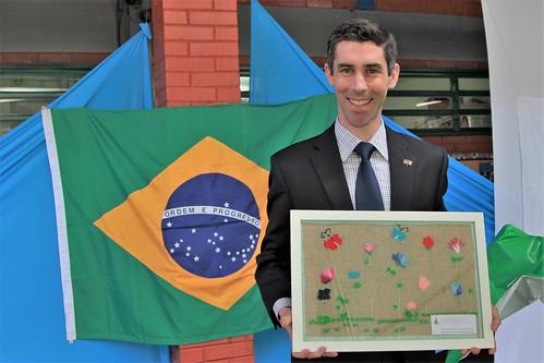 Embaixadas de Portas Abertas conclui intercâmbio entre a Embaixada da Irlanda e a escola da Vila Basevi