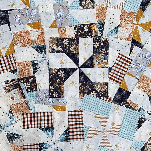 Winter Woods Beacon Quilt Blocks