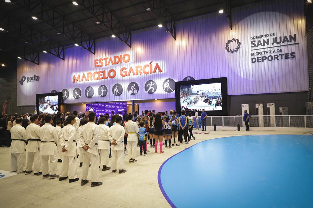 2019-12-04 PRENSA: Inauguracion Estadio Marcelo García en Pocito
