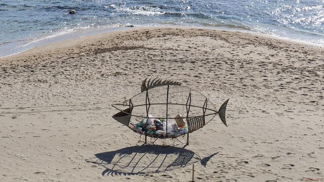 Recyclable, Plage, beach - Benalmadena, Costa Del Sol, Espagne, Spain - 3009