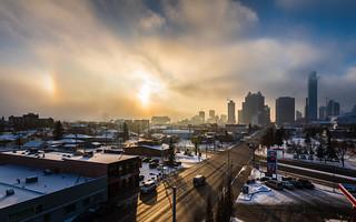 Winter Sky, Edmonton