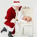 Santa baby   newborn photography   Boston Massachusetts
