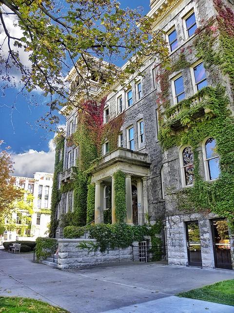 University of Syracuse  ~ Syracuse New York ~ LYMAN CORNELIUS SMITH Hall [1902] ~ Historic