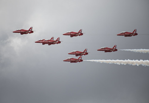A Little Sun on the Red Arrows