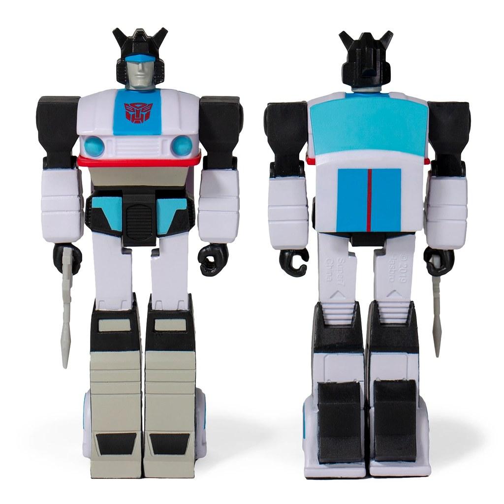 讓人懷念的復古 G1 造型! Super7 ReAction Figures 系列《變形金剛》Transformers 3.75 吋吊卡玩具 六位角色參戰~