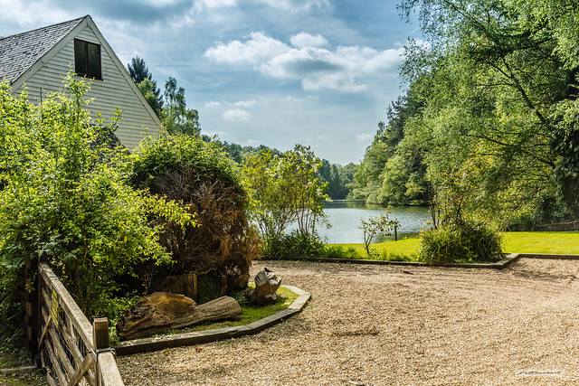 House by the Ardingly Reservoir, West Sussex.