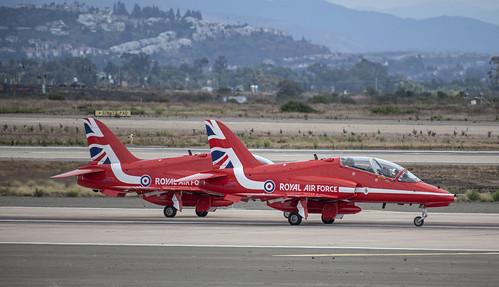 Red Arrows BAE Hawks
