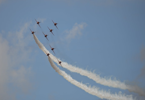 Red Arrows Formation Bank