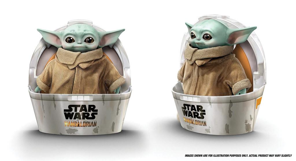 激萌的尤達寶寶養起來~ MATTEL 將推出 1:1 比例的《曼達洛人》尤達寶寶(Baby Yoda)絨毛玩偶「The Child」!