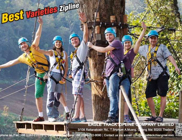Eagle Track Zipline (Chiang Mai, Thailand) – Brochures, Info, Price & Travellers Reviews