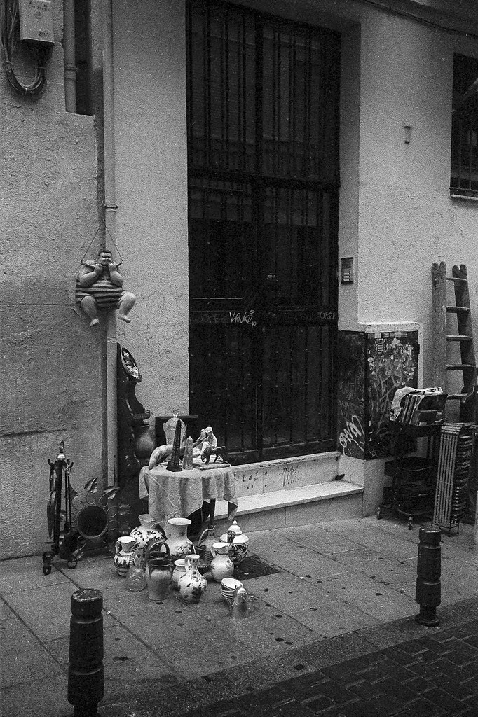 Madrid, el Rastro.