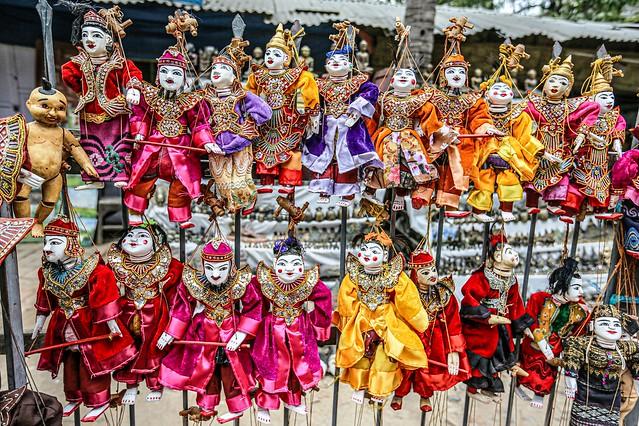 Burmese String Puppetry
