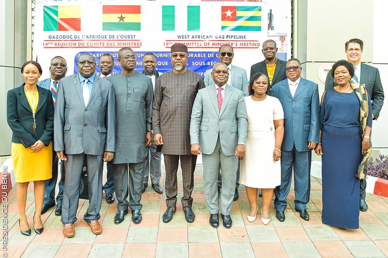 19e Réunion du Comité des Ministres sur le Gazoduc de l'Afrique de l'Ouest