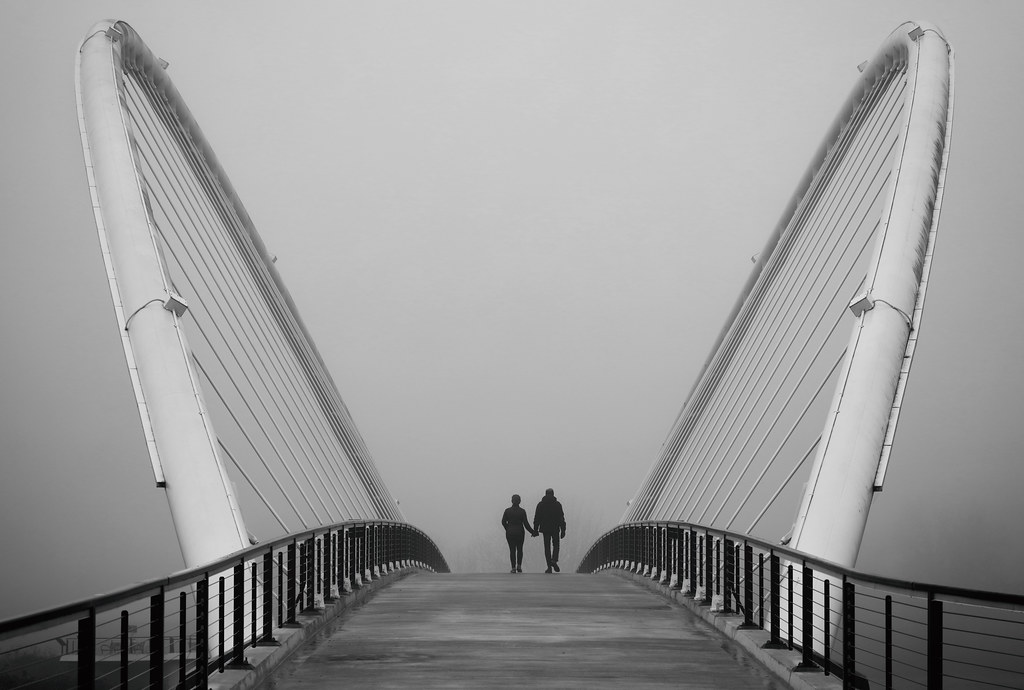 A Misty Hand-In-Hand