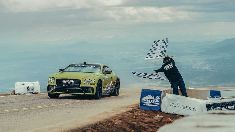 bentley-continental-gt-pikes-peak-record