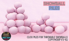 Junk Food - Snowball Piles Ad