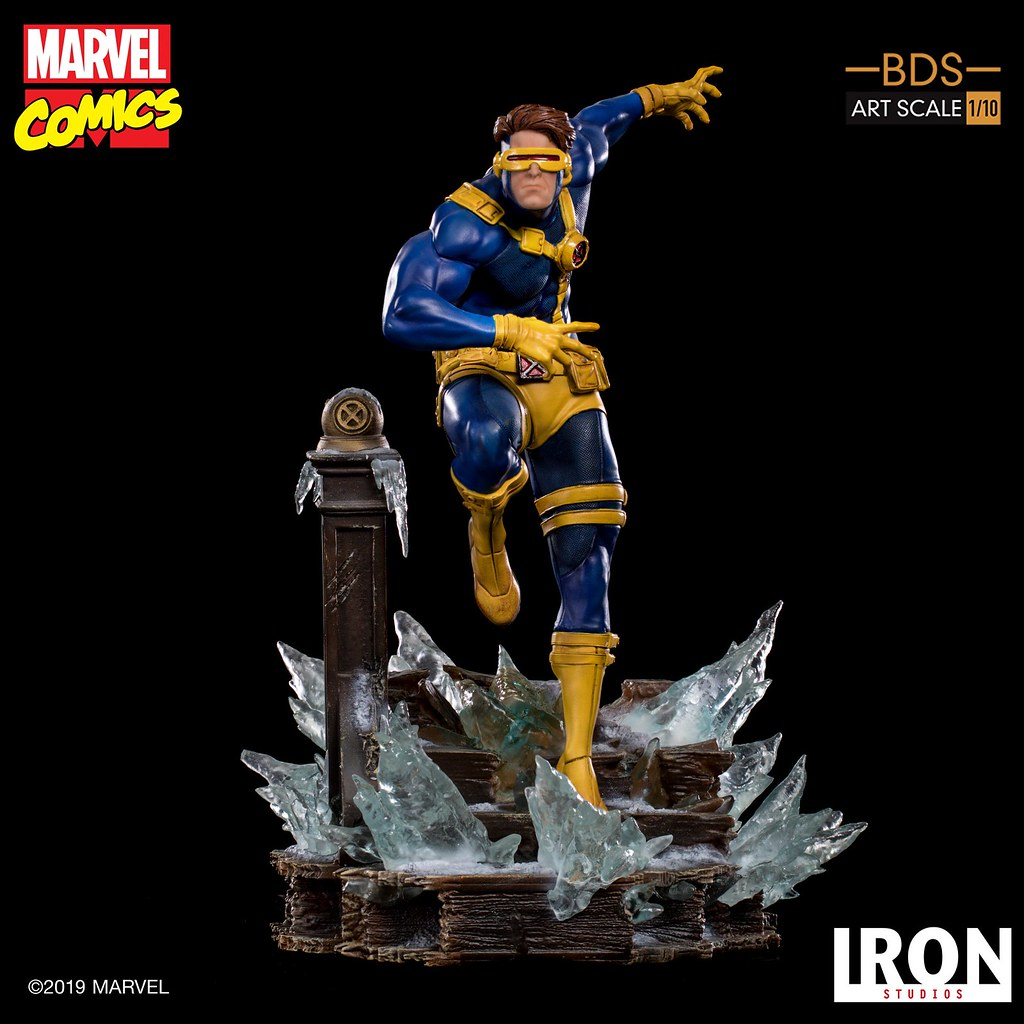 Iron Studios Battle Diorama 系列 Marvel Comics【獨眼龍】Cyclops 1/10 比例雕像