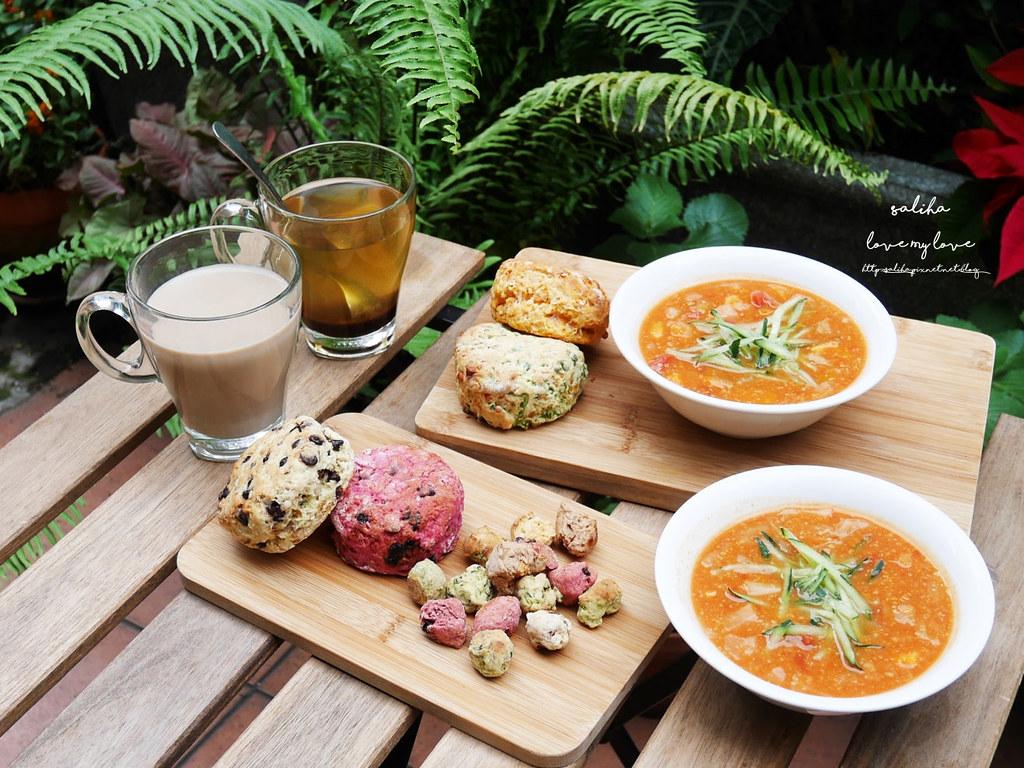 台北天母東路蔬食素食餐推薦私廚房Snuggles Kitchen下午茶咖啡